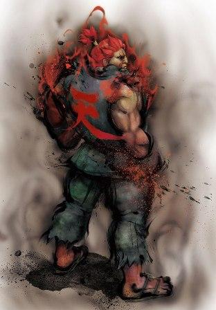 Movimientos para Street Fighter IV: Akuma