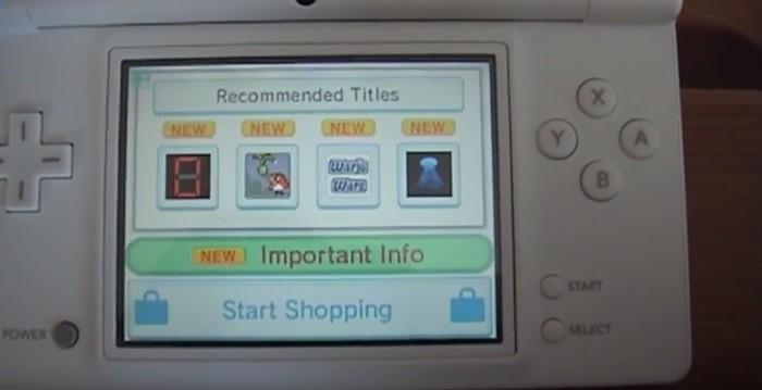 Nintendo DSi Shop cerrará el 31 de marzo