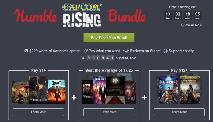 Resident Evil y Dead Rising protagonizan un nuevo humble Bundle de Capcom