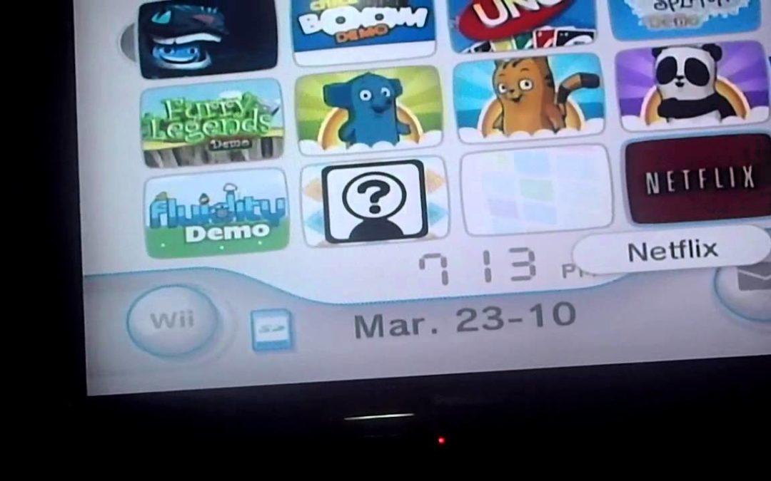 Adiós al Canal Tienda Wii: Desaparecerá en 2019