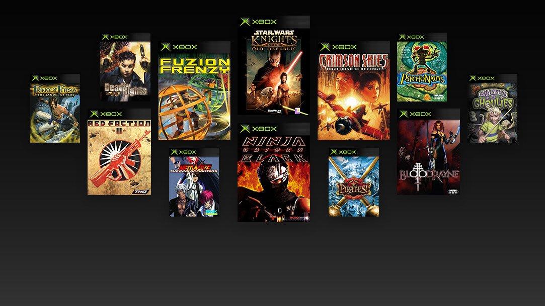 Primeros juegos de la Xbox original compatibles con One (Rumor)