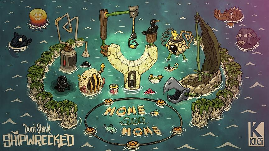 Don't Starve: Shipwrecked estrena nuevos contenidos