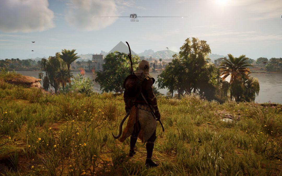 El mundo  de Assassin's Creed Origins a través de diferentes gameplays