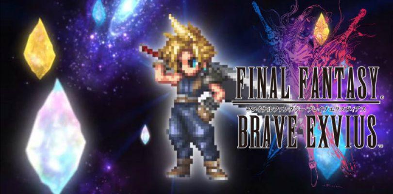 Cloud formará parte de la plantilla de Final Fantasy Brave Exvius