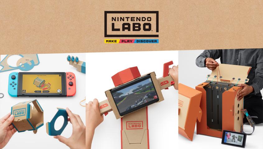 Crea, juega y disfruta con Nintendo Labo