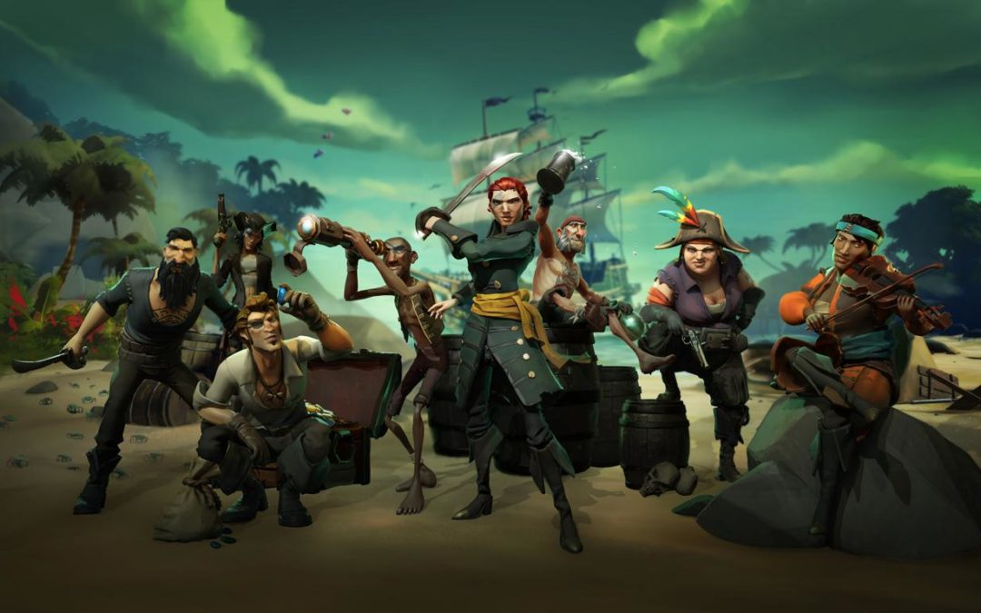¿Vais a jugar a Sea of Thieves? El primer parche pesa 19,53 GB