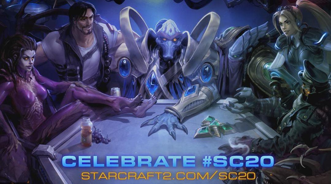 Blizzard celebra los 20 años de StarCraft con regalos en todos sus juegos