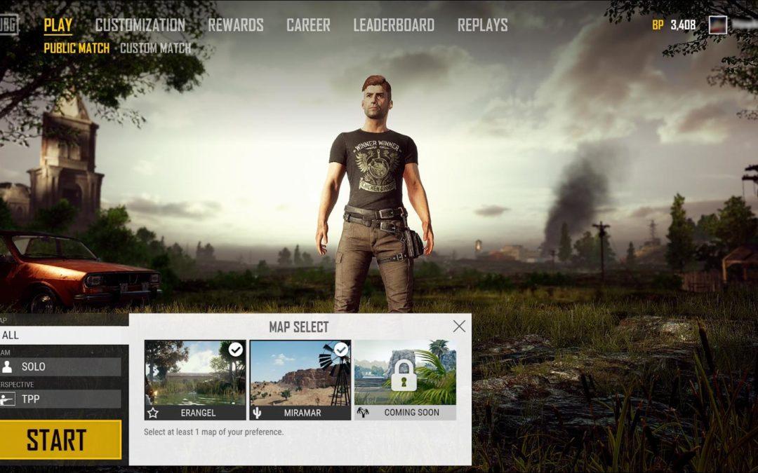 Adios a Miramar: PUBG nos permitirá elegir el mapa que queremos jugar