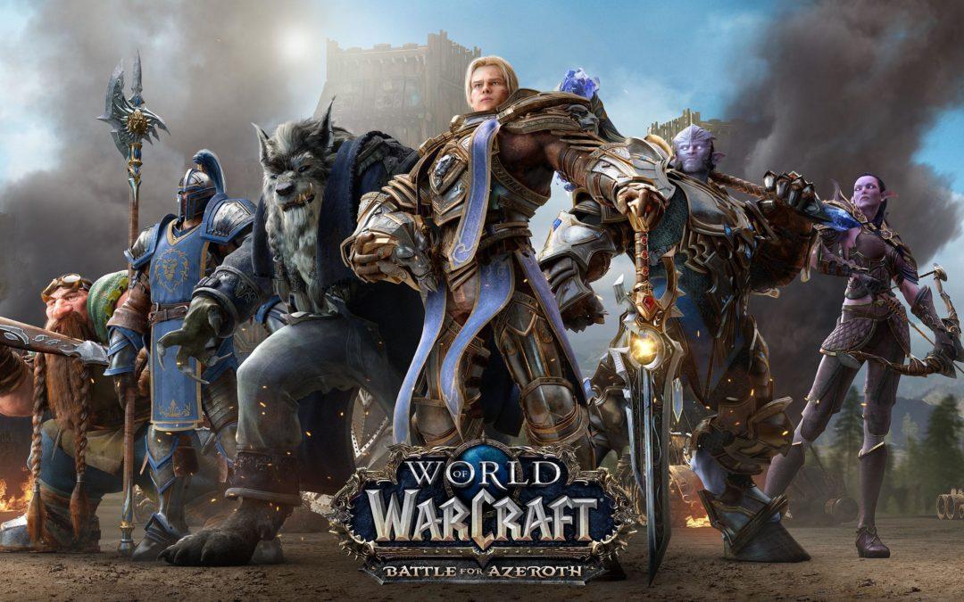World for WarCraft: Battle for Azeroth, la batalla comienza el 14 de agosto