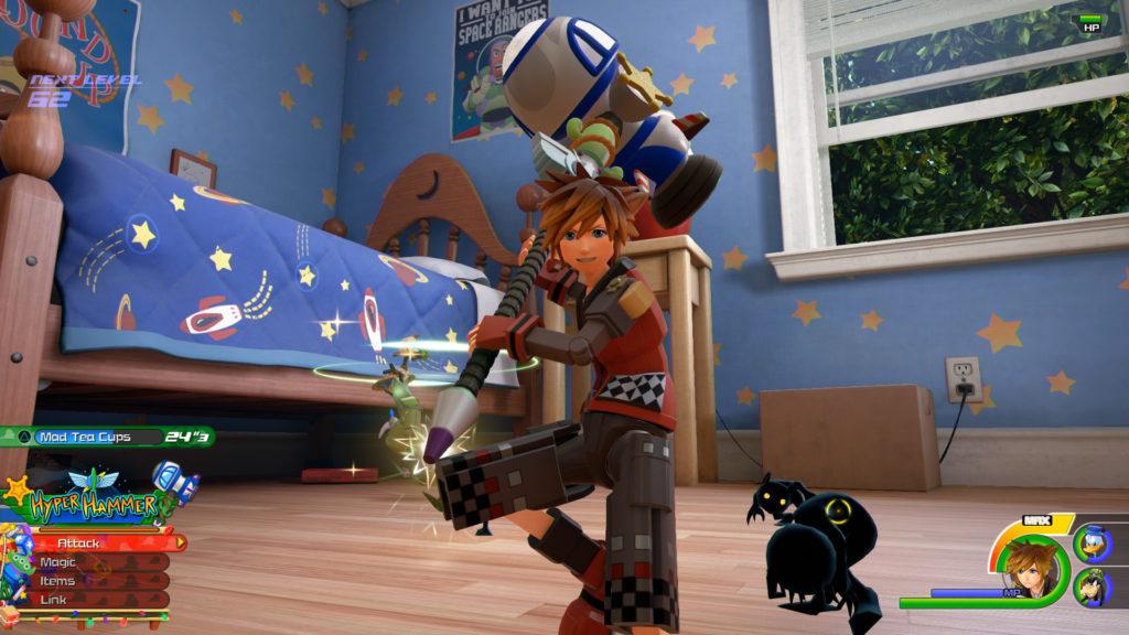 El mundo de Toy Story y el combate contra el Titán de roca se descubren en Kingdom Hearts III