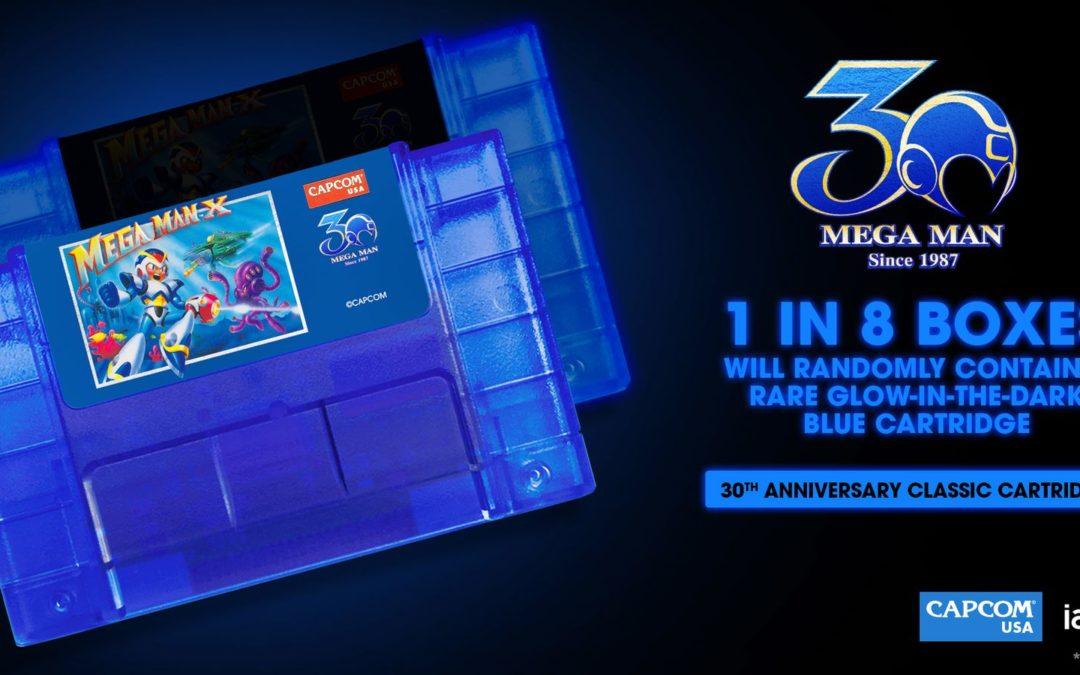 Capcom producirá 8.500 nuevos cartuchos de Mega Man 2 y X