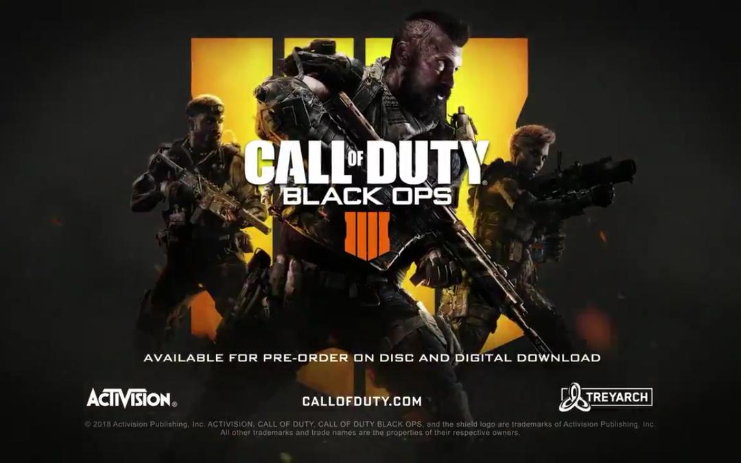 Call of Duty: Black Ops 4 presentado sin campaña y con modo Battle Royale
