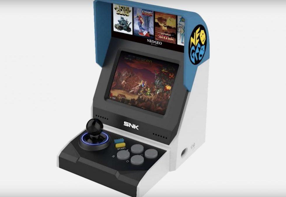 Neo Geo Mini: incluiría 40 juegos, imágenes de la consola y posible precio