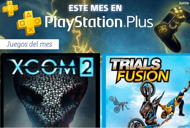 XCOM 2 y Trials Fusion entre los juegos de PlayStation Plus para junio