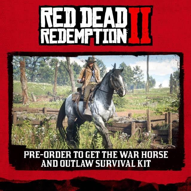 Red Dead Redemption 2: detalle de ediciones e incentivos de reserva