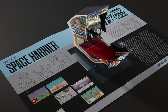 SEGA Arcade: Pop-Up History, nuevo libro de Read-Only Memory en Kickstarter