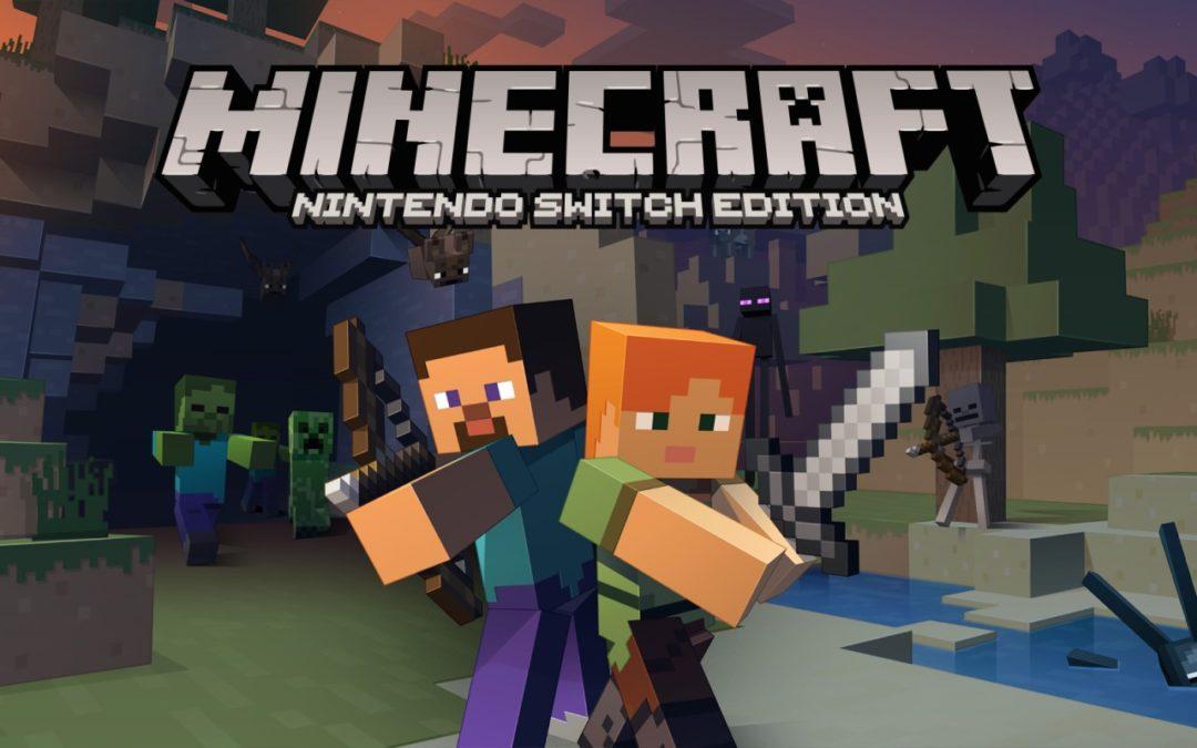 Minecraft para Nintendo Switch y sus buenas ventas en Japón