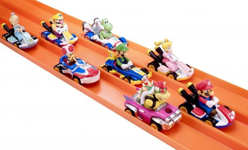 Mario Kart tendrá su línea de juguetes de Hot Wheels