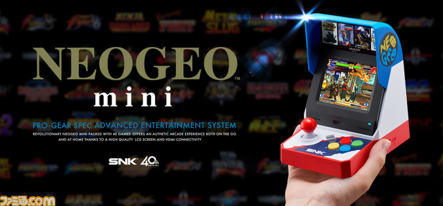 Unboxing de la Neo Geo Mini