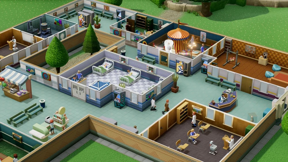 Two Point Hospital trae en agosto su medicina de locura