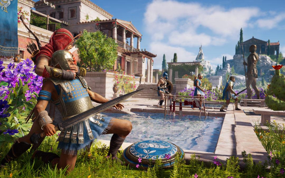 Assassin's Creed Odyssey tendrá más de 30 horas de escenas interactivas