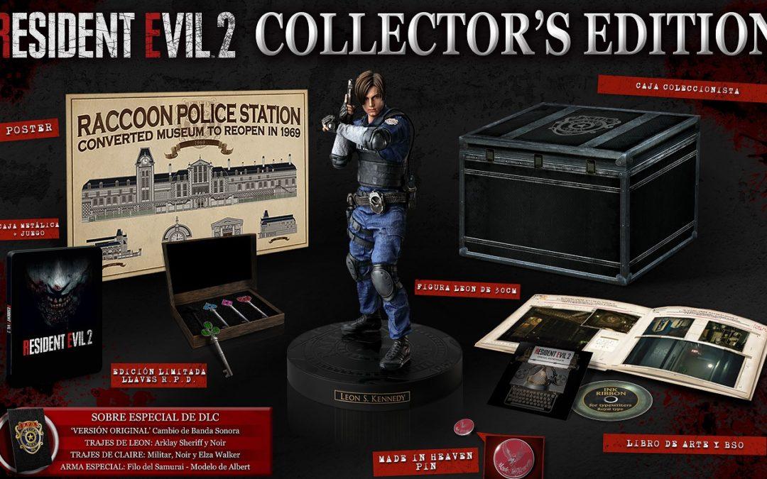 La edición coleccionista de Resident Evil 2 se confirma para Europa