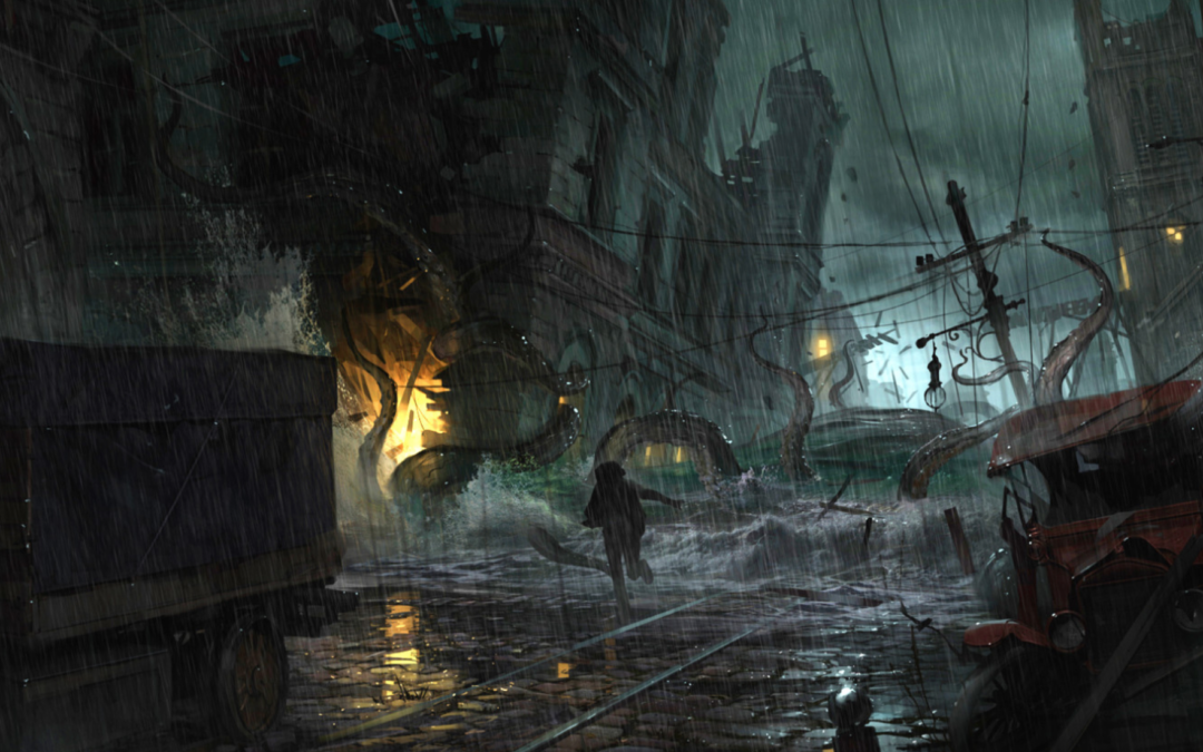 Trailer con gameplay de The Sinking City
