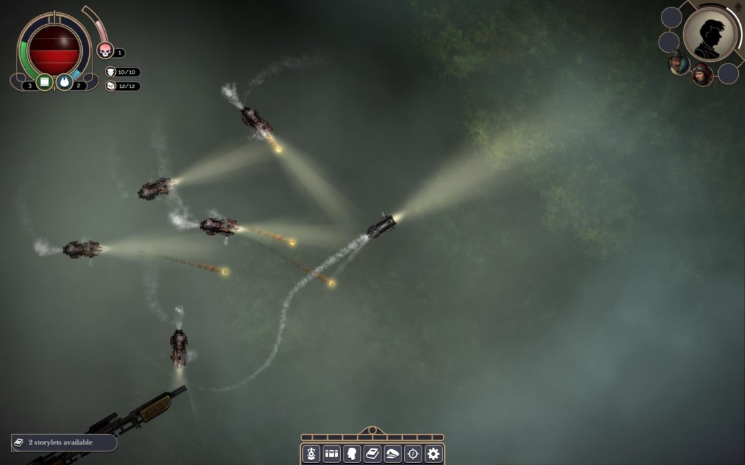 Sunless Skies actualiza con mejoras su sistema de combate espacial
