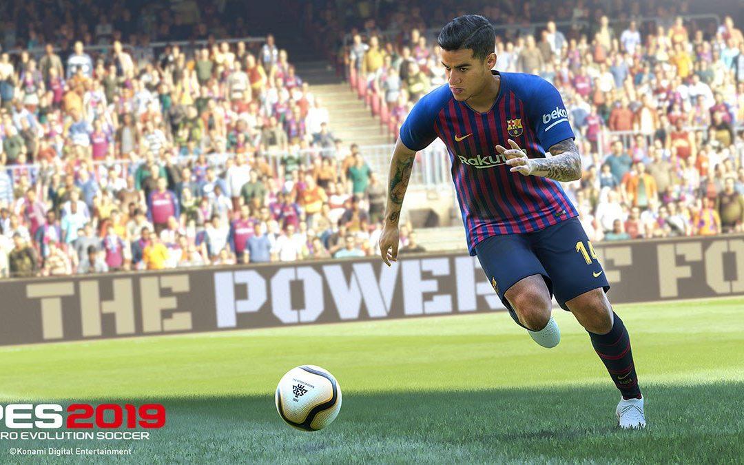 Análisis Pro Evolution Soccer 2019
