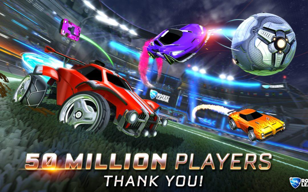 Rocket League alcanza los 50 millones de jugadores y sigue siendo un éxito