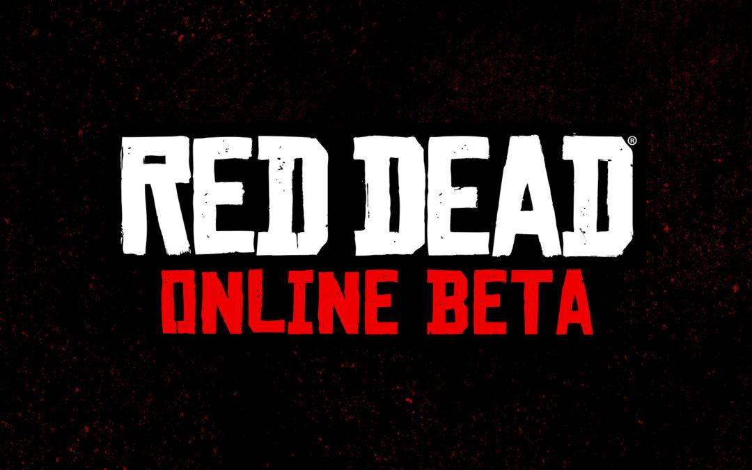 Red Dead Online anunciado, beta en noviembre