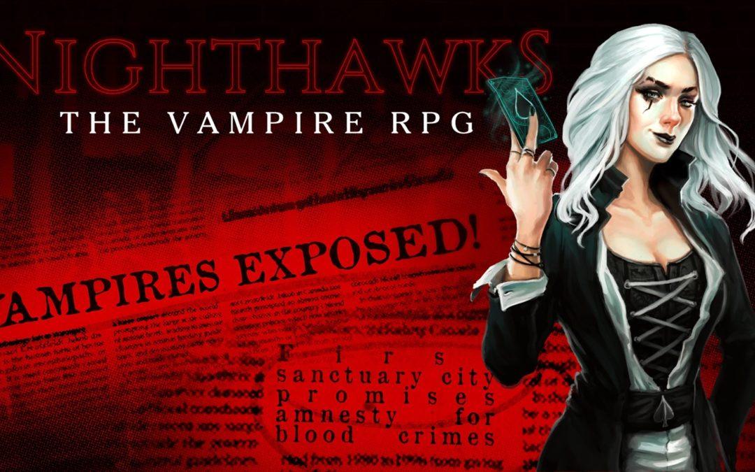 Nighthawks: un RPG de vampiros a lo Sunless Sea de Dave Gilbert