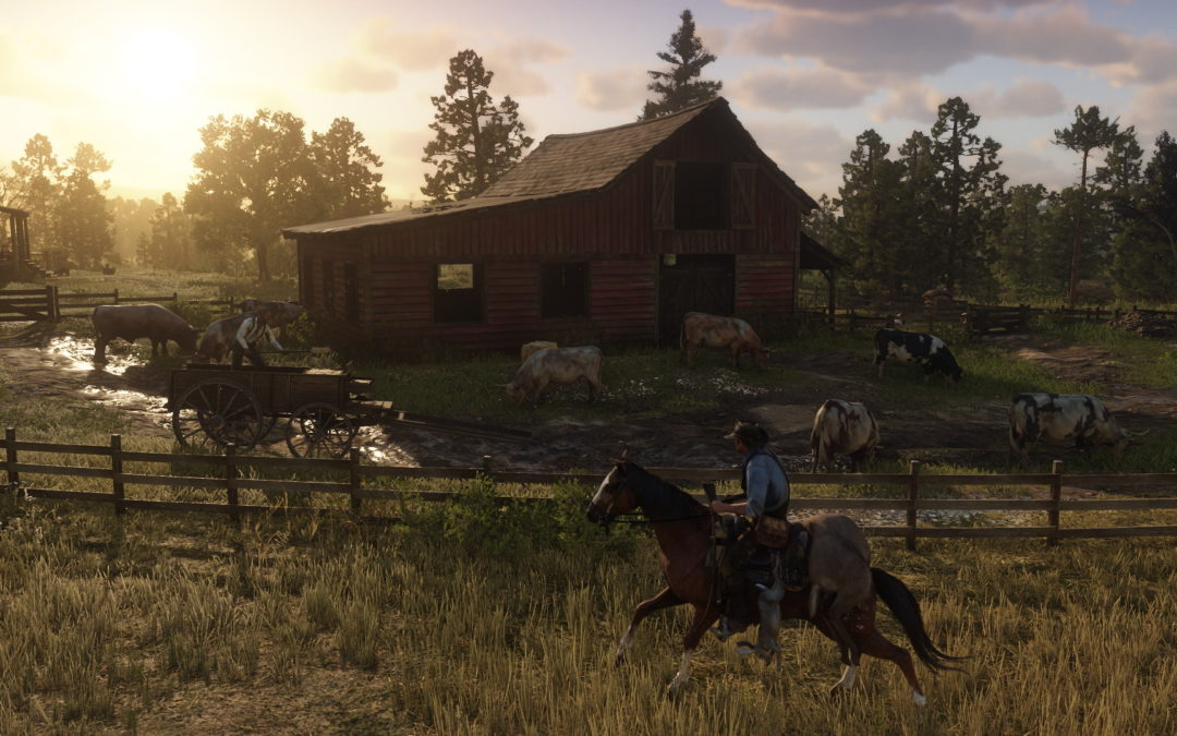 Red Dead Redemption 2 tendrá 4K nativo y HDR en Xbox One X