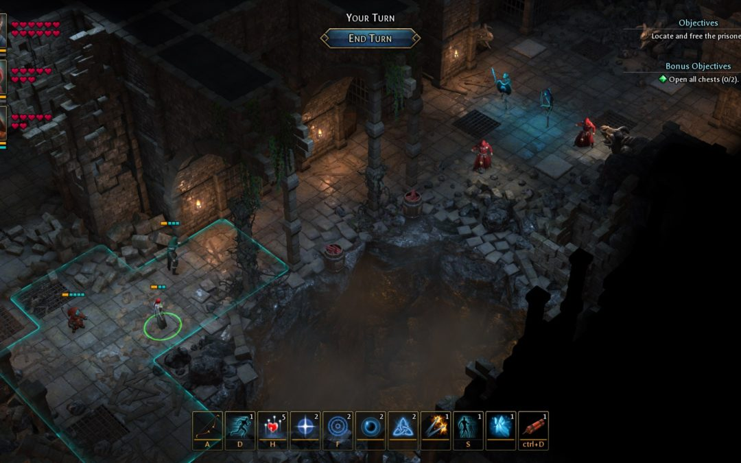 El RPG Druidstone y sus combates tácticos llegan a PC en 2019