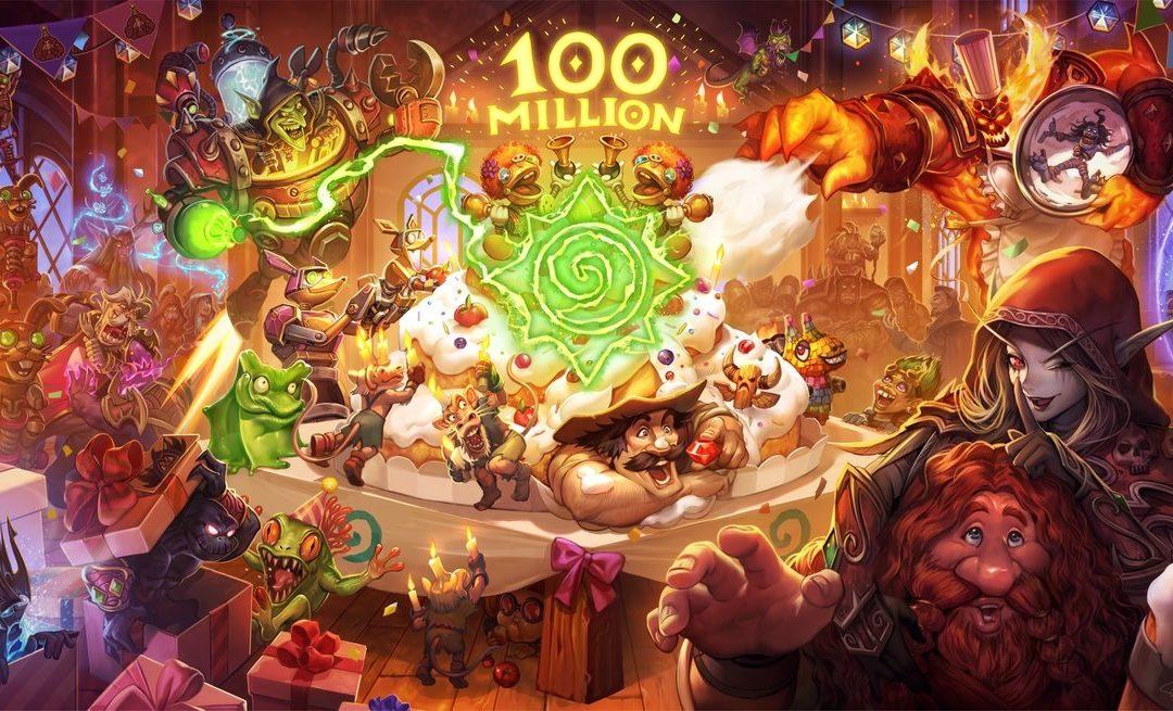 Hearthstone ya tiene 100 millones de jugadores: consigue oro y sobres gratis