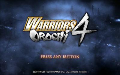 Análisis Warriors Orochi 4