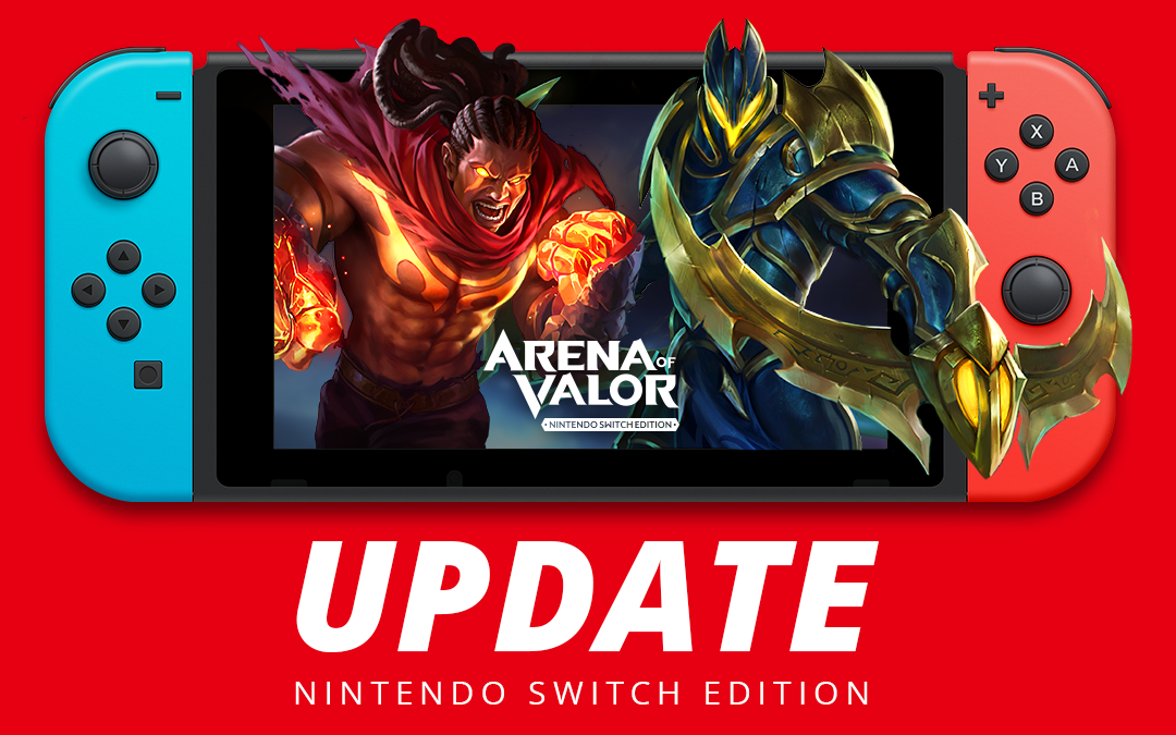 Arena of Valor se actualiza en Nintendo Switch con controles por movimiento