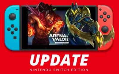 Arena of Valor se actualiza en Nintendo Switch con controles por movimiento