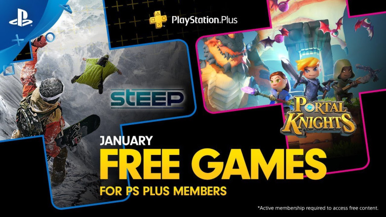 STEEP y Portal Knights en PlayStation Plus para enero de 2019