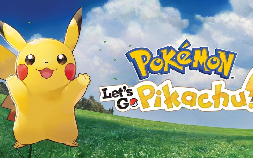 Análisis Pokémon Let's GO! Pikachu