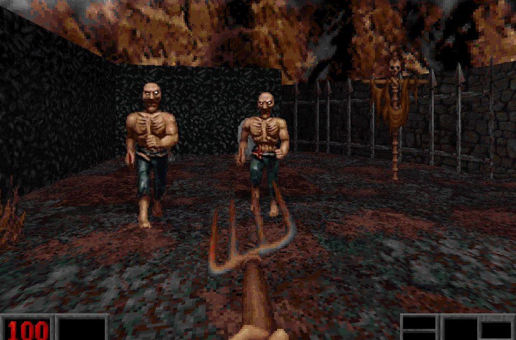 El clásico shooter Blood será remasterizado
