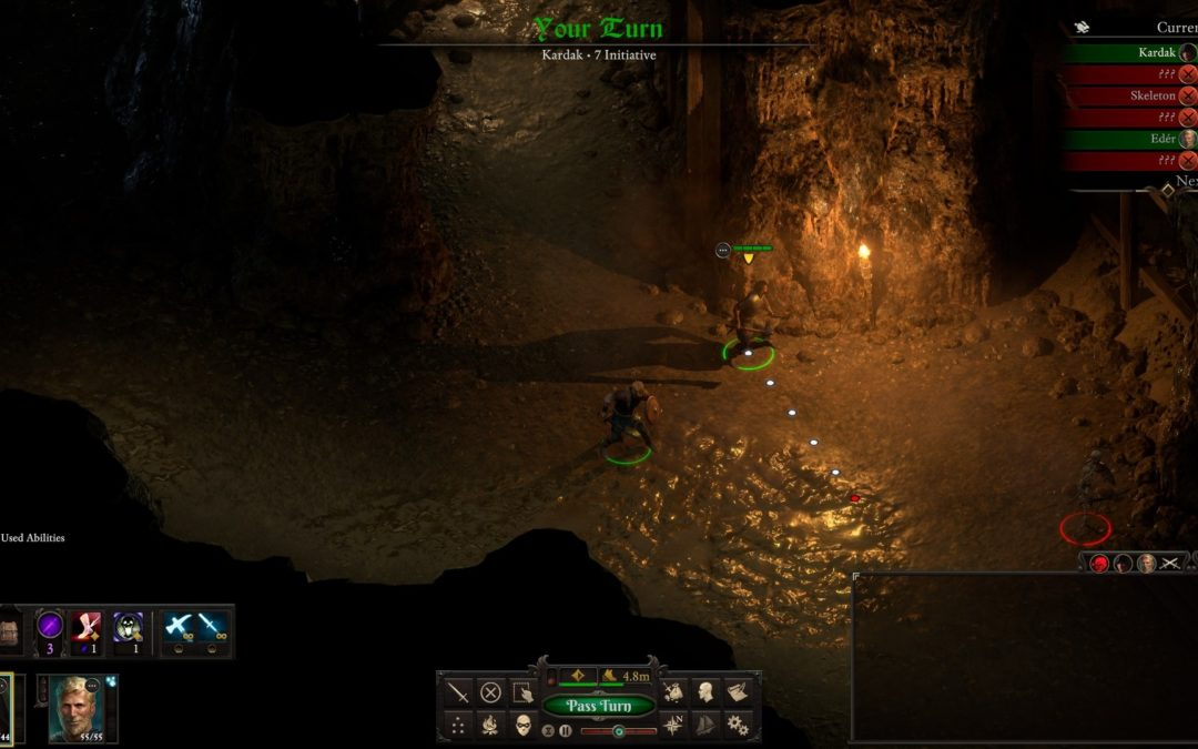 Pillars of Eternity 2 podría introducir combates por turnos próximamente