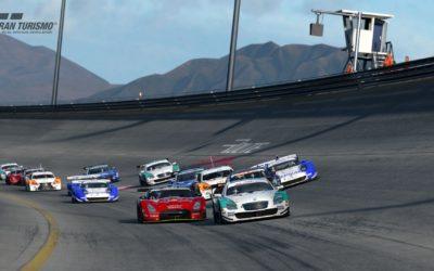 El trazado oval Special Stage Route X aparece en Gran Turismo Sport