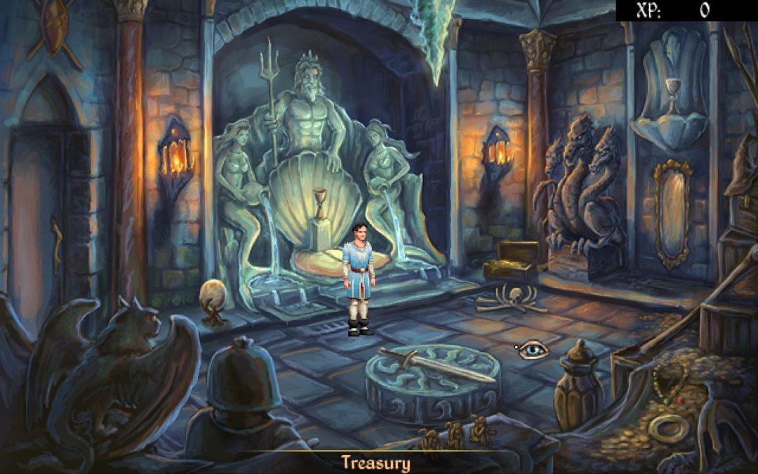 Mage's Initiation: una aventura gráfica clásica de puzzles y combates