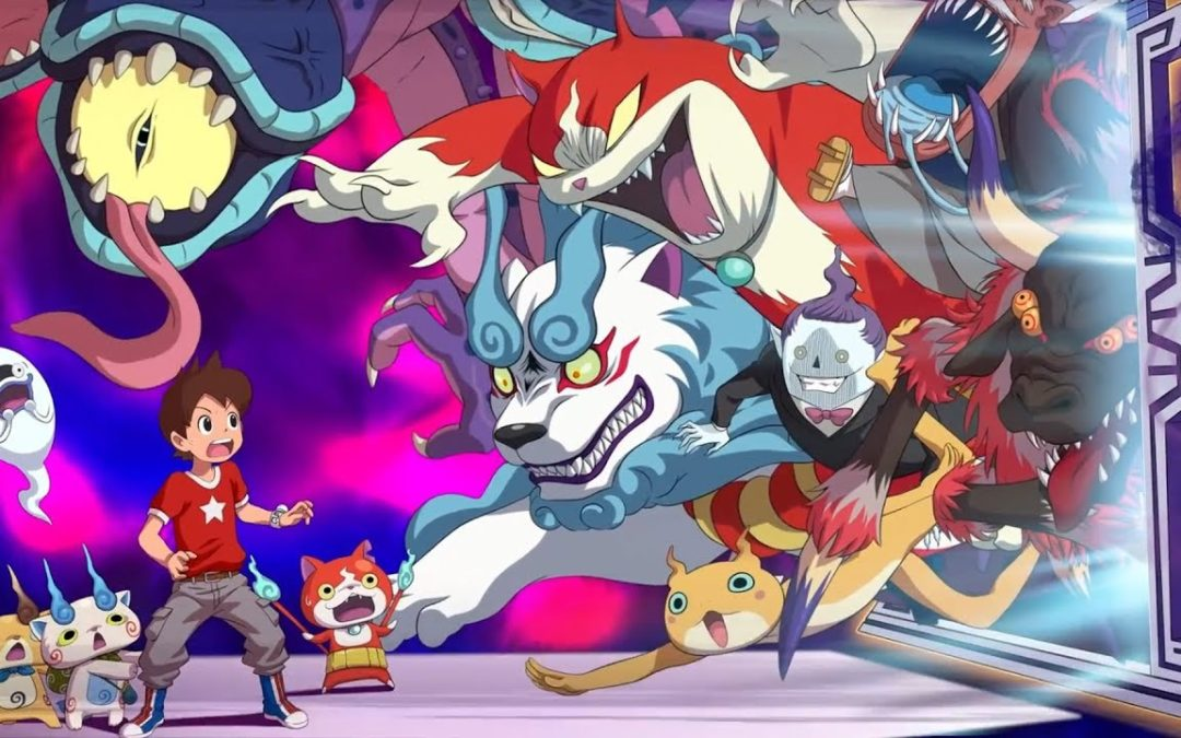 Gameplay de Yo-Kai Watch 4 (Switch, Level-5)