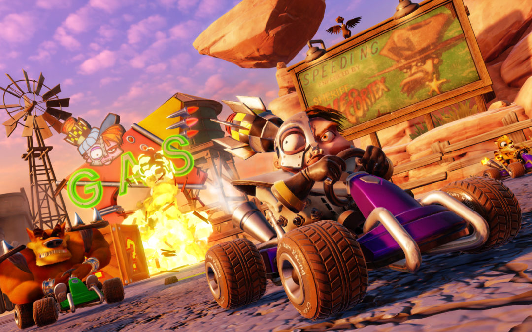 Muestras jugables de Crash Team Racing Nitro-Fueled