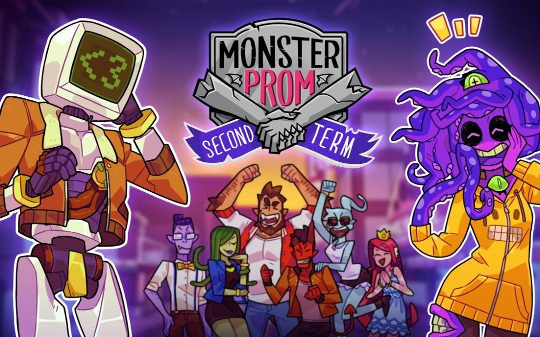 Monster Prom amplía sus contenidos con un nuevo DLC