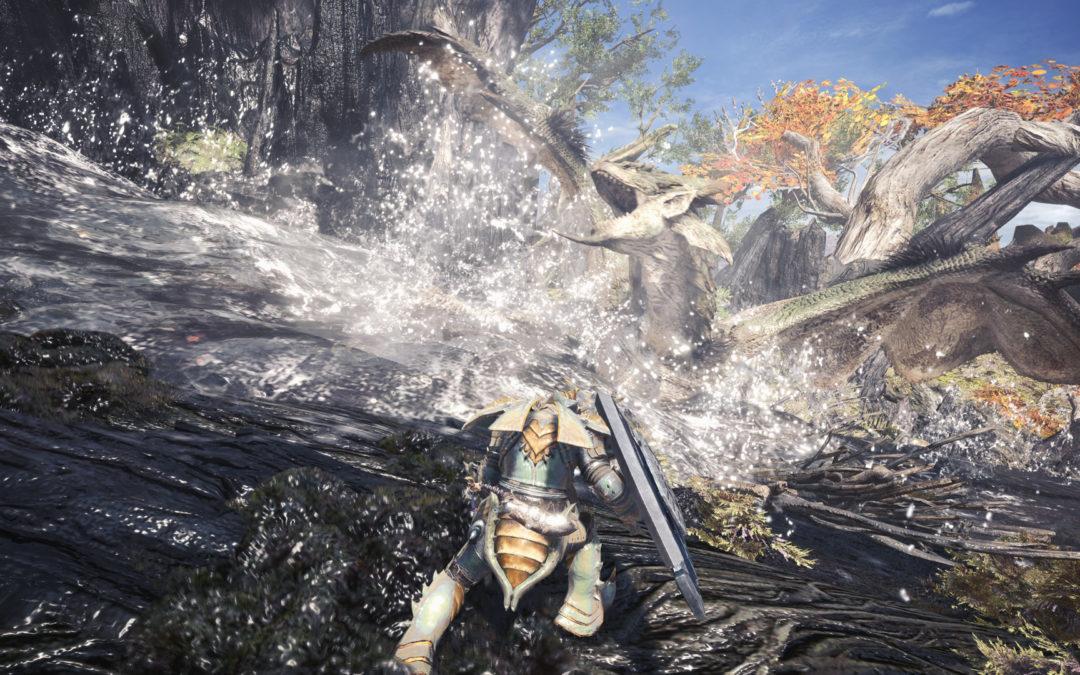 Monster Hunter World recibirá un parche en PC para mejorar sus gráficos