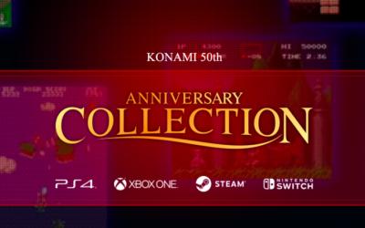 Konami celebra su 50 aniversario con una mirada al pasado