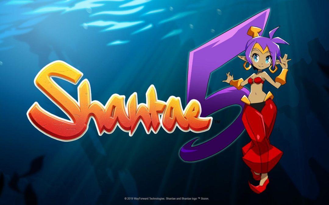 Shantae 5 en desarrollo, llegará este año a todas las plataformas